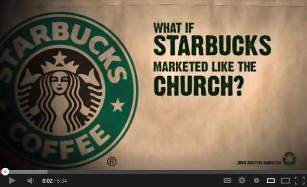 #Starbucks #CHURCH