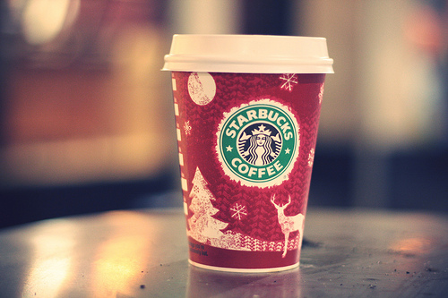 christmas on starbucks coffee cups pentecostal theology