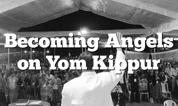 Becoming Angels on Yom Kippur
