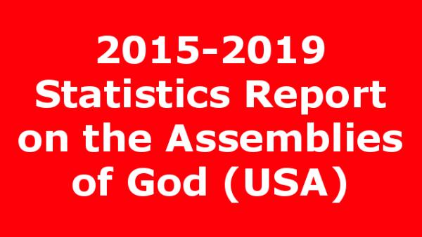 2015-2019 Statistics Report on the Assemblies of God (USA)