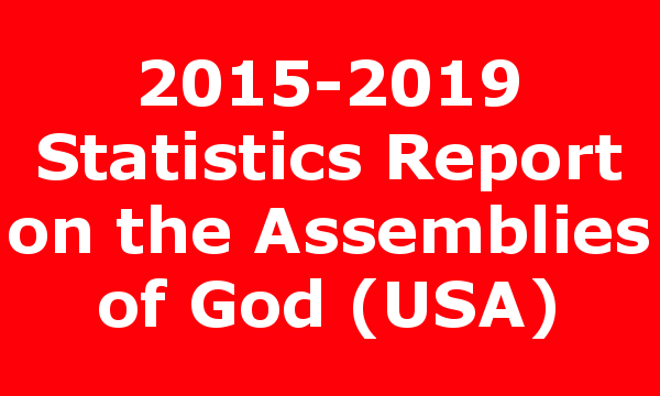 2015-2019 Statistics Report on the Assemblies of God (USA)