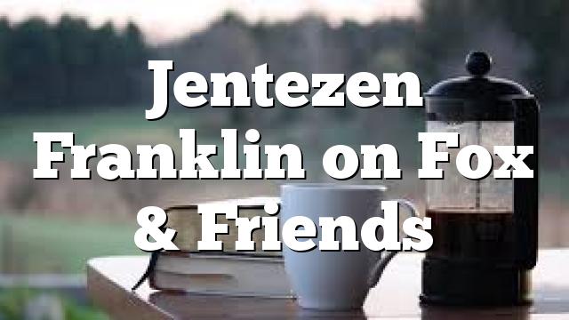 Jentezen Franklin on Fox & Friends
