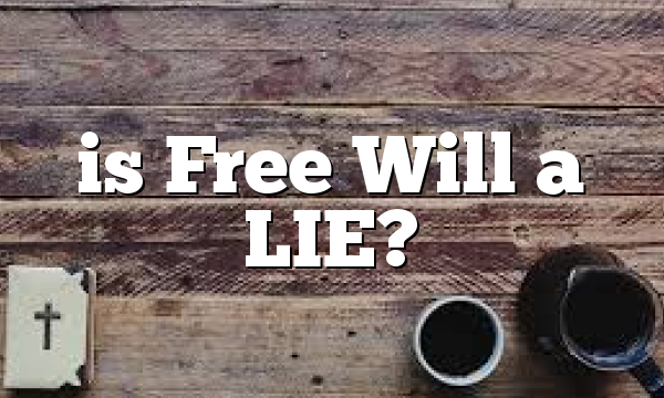 is Free Will  a LIE?