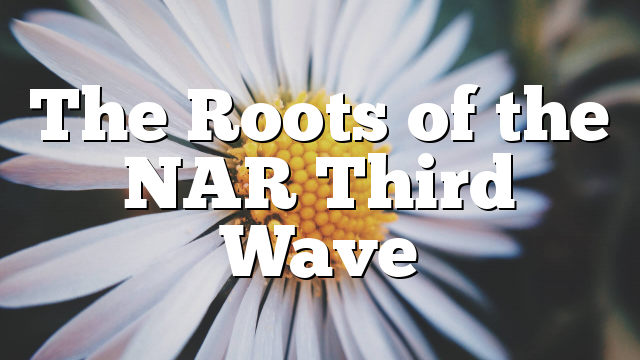 The Roots of the NAR Third Wave