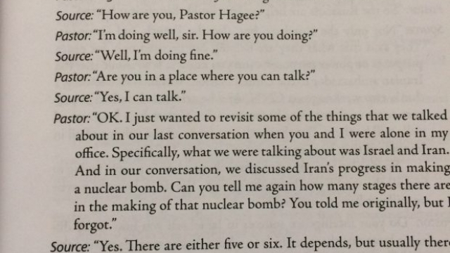 John Hagee: My SOURCE in Israel