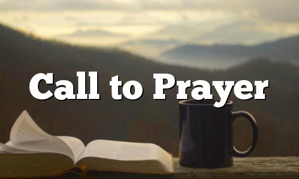 Call to Prayer