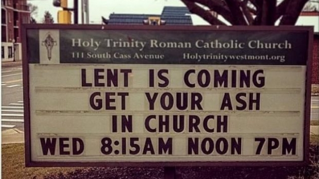 How often do you redo your Church sign?