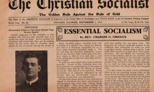 Is Christian Socialism possible?