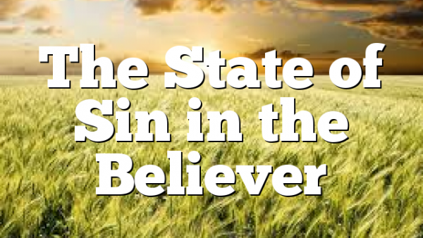 The State of Sin in the Believer