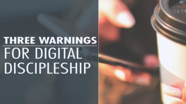 DIGITAL DISCIPLESHIP? – is it even possible…