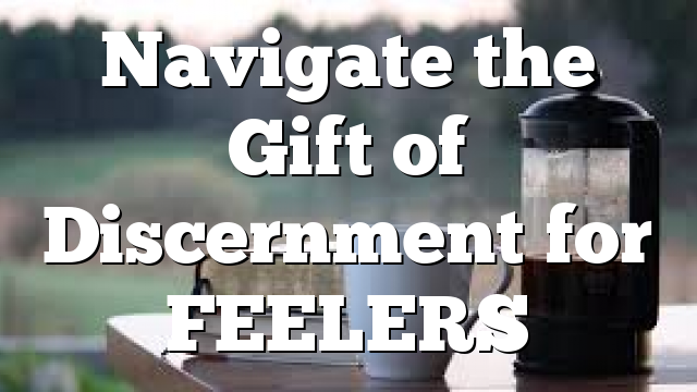Navigate the Gift of Discernment for FEELERS
