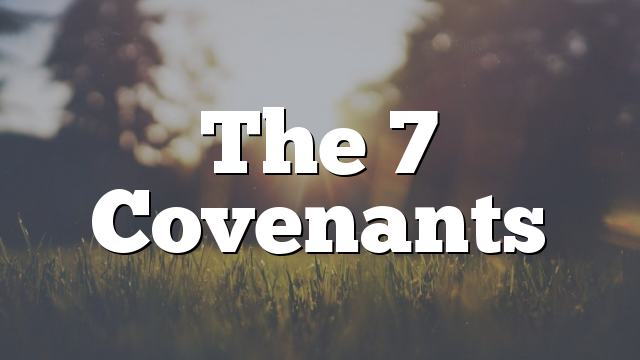 The 7 Covenants