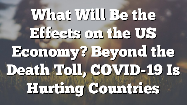 What Will Be the Effects on the US Economy? Beyond the Death Toll, COVID-19 Is Hurting Countries