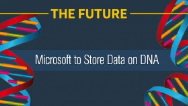 Microsoft Purchase of 10 Million DNA Strands for Data Storage
