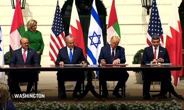 Israel signs pacts with 2 Arab states: A 'new' Mideast?