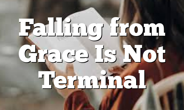 Falling from Grace Is Not Terminal