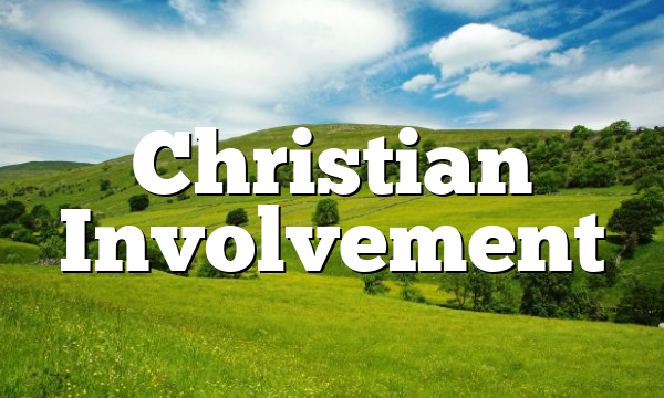 Christian Involvement