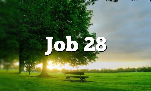 Job 28